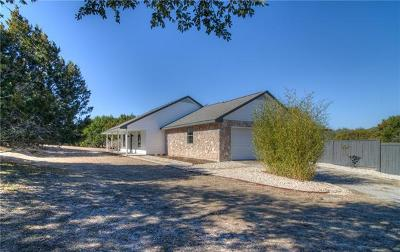 Dripping Springs Single Family Home Active Contingent: 10927 W Cave Blvd