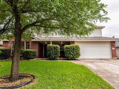 Round Rock Single Family Home For Sale: 3312 Blue Ridge Dr