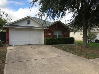 Austin Single Family Home For Sale: 14503 Varrelman St