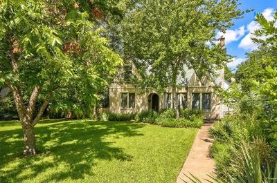 Austin Single Family Home For Sale: 2200 Forest Trl