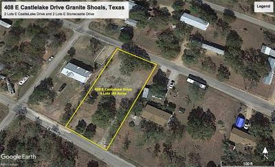 Granite Shoals TX Residential Lots & Land For Sale: $21,000