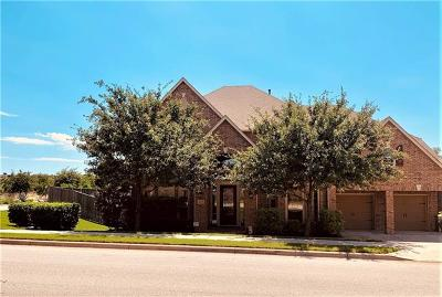 Leander Single Family Home For Sale: 2637 Homecoming