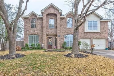 Pflugerville Single Family Home For Sale: 104 Savin Rise Ct