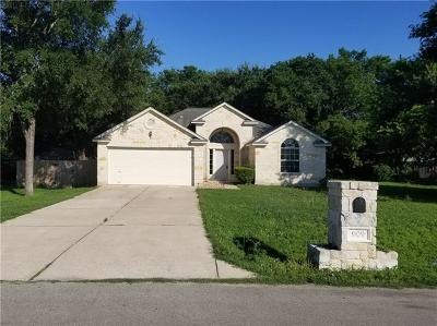 Round Rock TX Single Family Home For Sale: $249,500