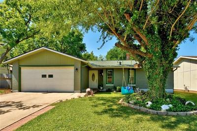 Austin Single Family Home For Sale: 1201 Turtle Creek Blvd