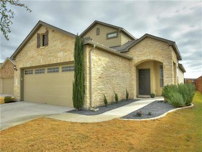 Travis County Single Family Home Pending - Taking Backups: 16109 Remington Reserve Way