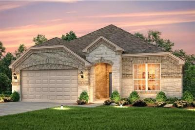 Round Rock Single Family Home For Sale: 6121 Gimignano Pl