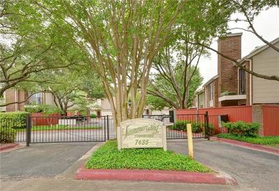 Condo/Townhouse Pending - Taking Backups: 7635 Guadalupe St #802