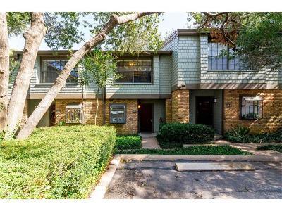 Travis County Condo/Townhouse For Sale: 7122 Wood Hollow Dr #86