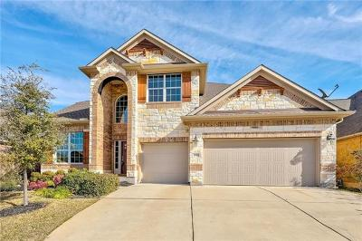 Round Rock Single Family Home For Sale: 4505 Miraval Loop