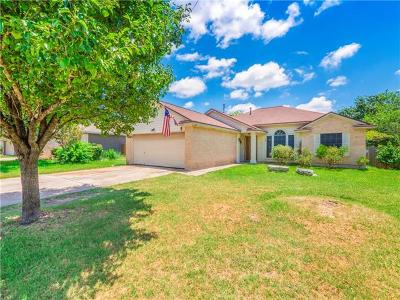 Hutto Single Family Home Pending - Taking Backups: 300 Meadowside Dr