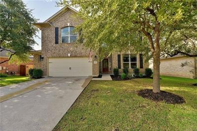 Cedar Park Single Family Home Pending - Taking Backups: 3618 Turkey Path Bnd