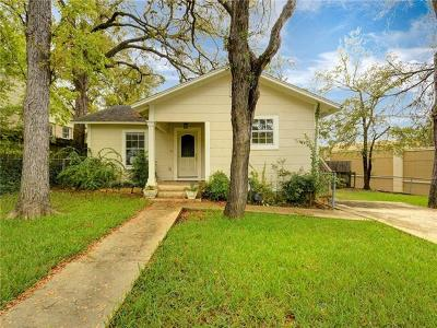 Austin Single Family Home For Sale: 1709 Westover Rd