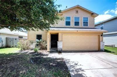 Hutto Single Family Home For Sale: 515 W Metcalfe St