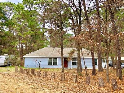 Paige Single Family Home Pending - Taking Backups: 207 Squirrel Run