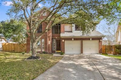 Pflugerville Single Family Home For Sale: 17907 Hayworth Cv