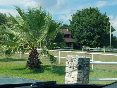 Pflugerville Farm For Sale: 21018 Martin Lane
