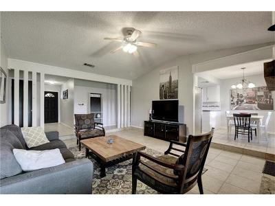 Round Rock Single Family Home For Sale: 1307 Mills Meadow Dr
