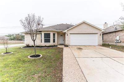 Round Rock Single Family Home For Sale: 1554 Lorson Loop