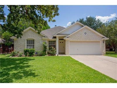 Cedar Park Single Family Home For Sale: 2802 Glenwood Trl