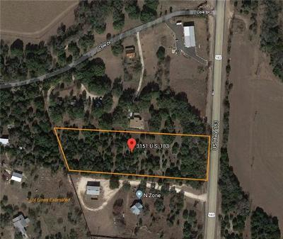Residential Lots & Land For Sale: 3151 N Highway 183