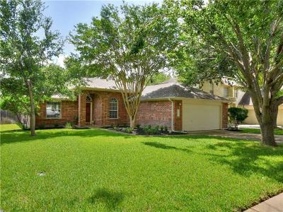 Round Rock Single Family Home For Sale: 2005 Bent Tree Loop