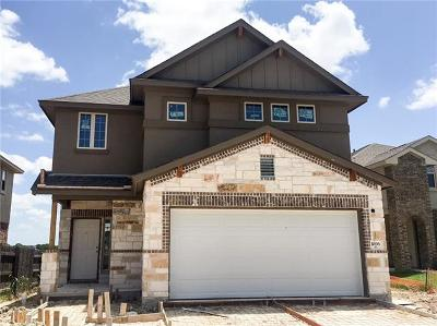 Round Rock Single Family Home For Sale: 1006 Chad Loop