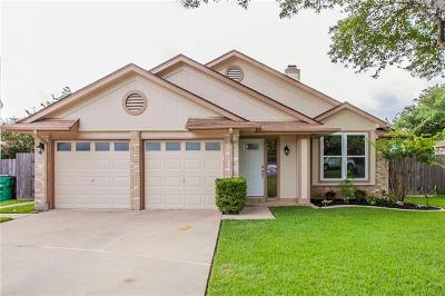 Cedar Park Single Family Home For Sale: 1404 Dove Hill Dr