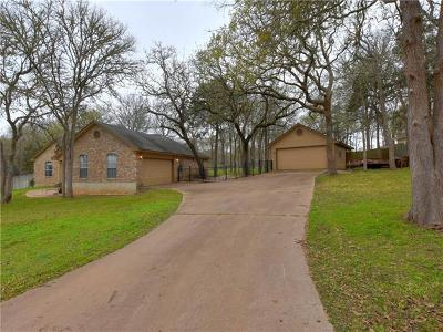 Bastrop Single Family Home Pending - Taking Backups: 165 Kaelepulu Dr