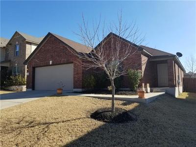 Round Rock TX Single Family Home For Sale: $240,500