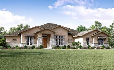Dripping Springs TX Single Family Home For Sale: $849,187
