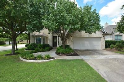 Round Rock Single Family Home Active Contingent: 3900 Blue Monster Cv