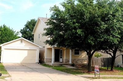 Manor Single Family Home For Sale: 12104 Briarcreek Loop