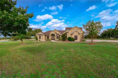 Hutto Single Family Home For Sale: 359 Heritage Loop