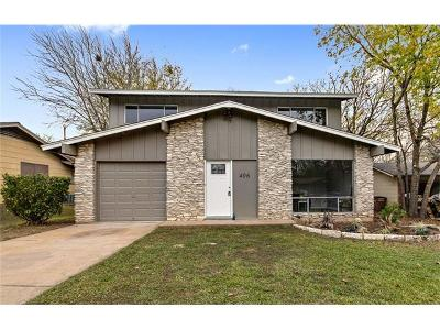 Austin TX Single Family Home For Sale: $319,500