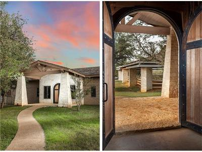 Spicewood Single Family Home For Sale: 1001 Rivercliff Rd