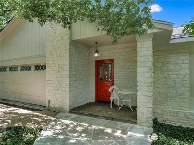 Austin Single Family Home Pending - Taking Backups: 6011 Bon Terra Dr