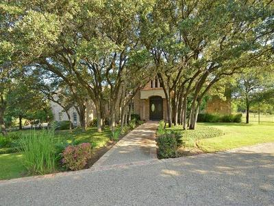 Austin Single Family Home For Sale: 3800 Barton Creek Blvd