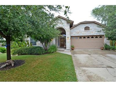 Round Rock Single Family Home For Sale: 2124 Aaron Ross Way