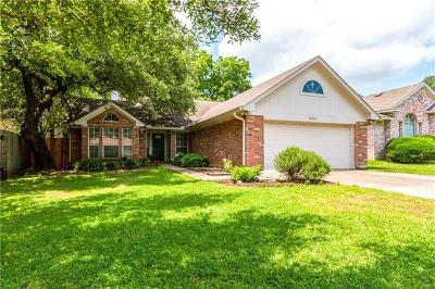 Austin Single Family Home For Sale: 8507 Portage Cv
