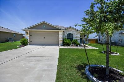 Hutto Single Family Home Pending - Taking Backups: 149 Leon River Loop