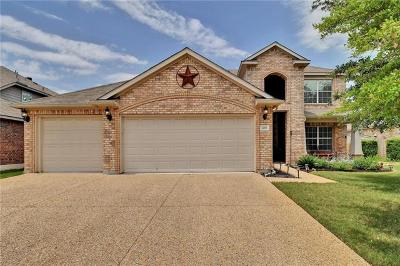 Leander Single Family Home For Sale: 105 Swallow Cv