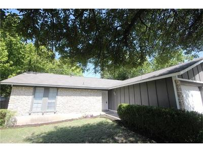 Travis County Single Family Home For Sale: 10608 Barnhill Dr