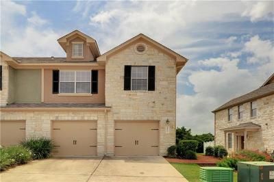 Cedar Park Condo/Townhouse For Sale: 700 Mandarin Flyway #401
