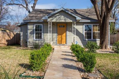 Travis County Single Family Home For Sale: 601 Allen St