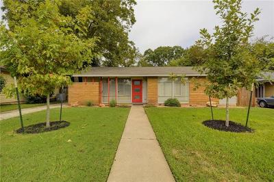 Travis County Single Family Home For Sale: 1610 Cloverleaf Dr