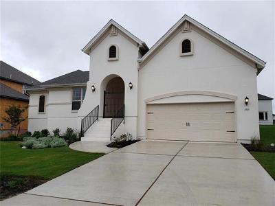 Leander Single Family Home For Sale: 1520 Bellini Ln