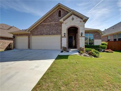 Leander Single Family Home For Sale: 2524 Shumard Bluff Dr