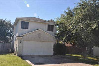 Round Rock Single Family Home For Sale: 3935 Upper Passage Ln