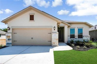 Round Rock Single Family Home For Sale: 3333 Bianco Ter